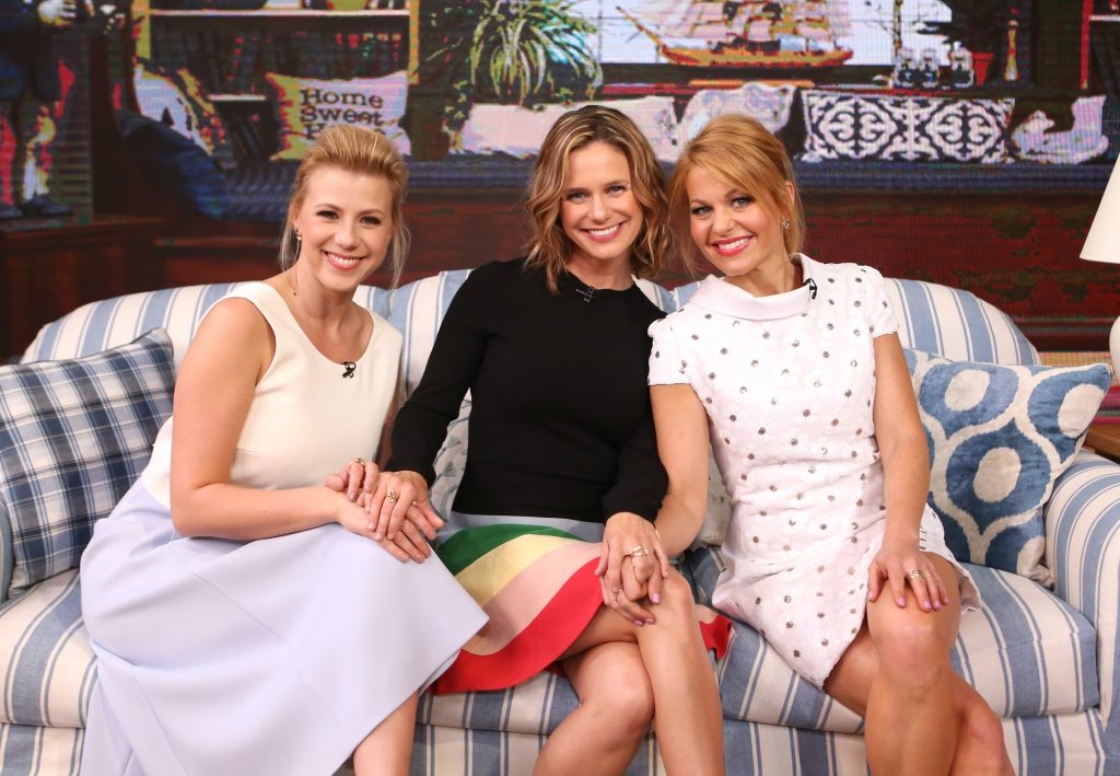 Candace Cameron Bure, Jodie Sweetin, and Andrea Barber of 'Fuller House'