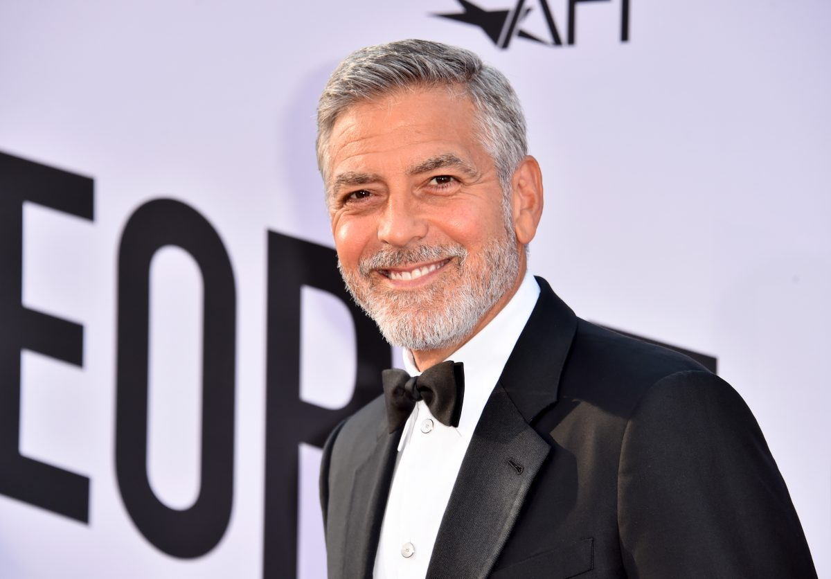 George Clooney attends the American Film Institute's Life Achievement Award Gala Tribute to George Clooney