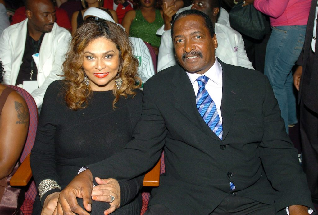 Tina Knowles and Matthew Knowles