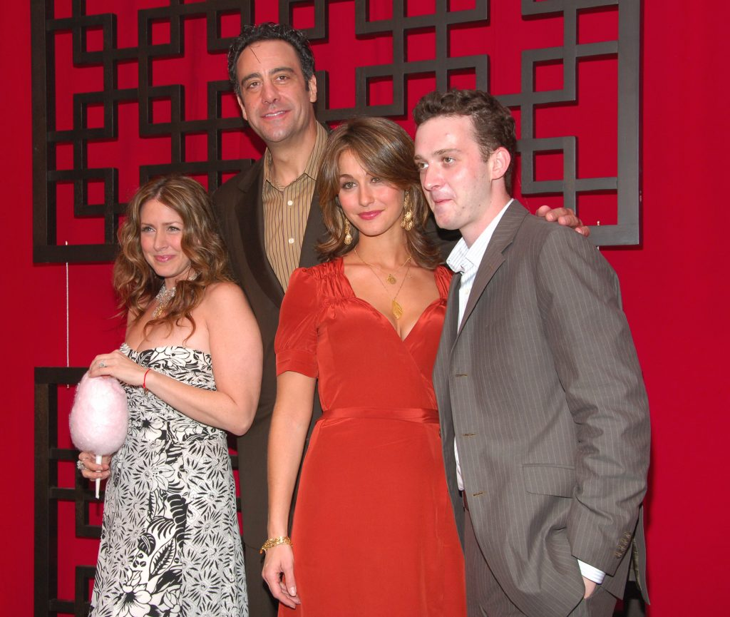 Brad Garrett (second from left) and the cast of 'Til Death' in 2006