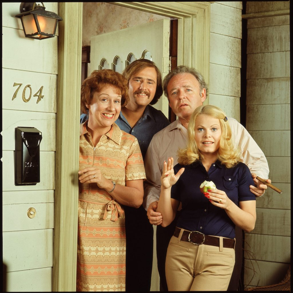 The cast of 'All in the Family'