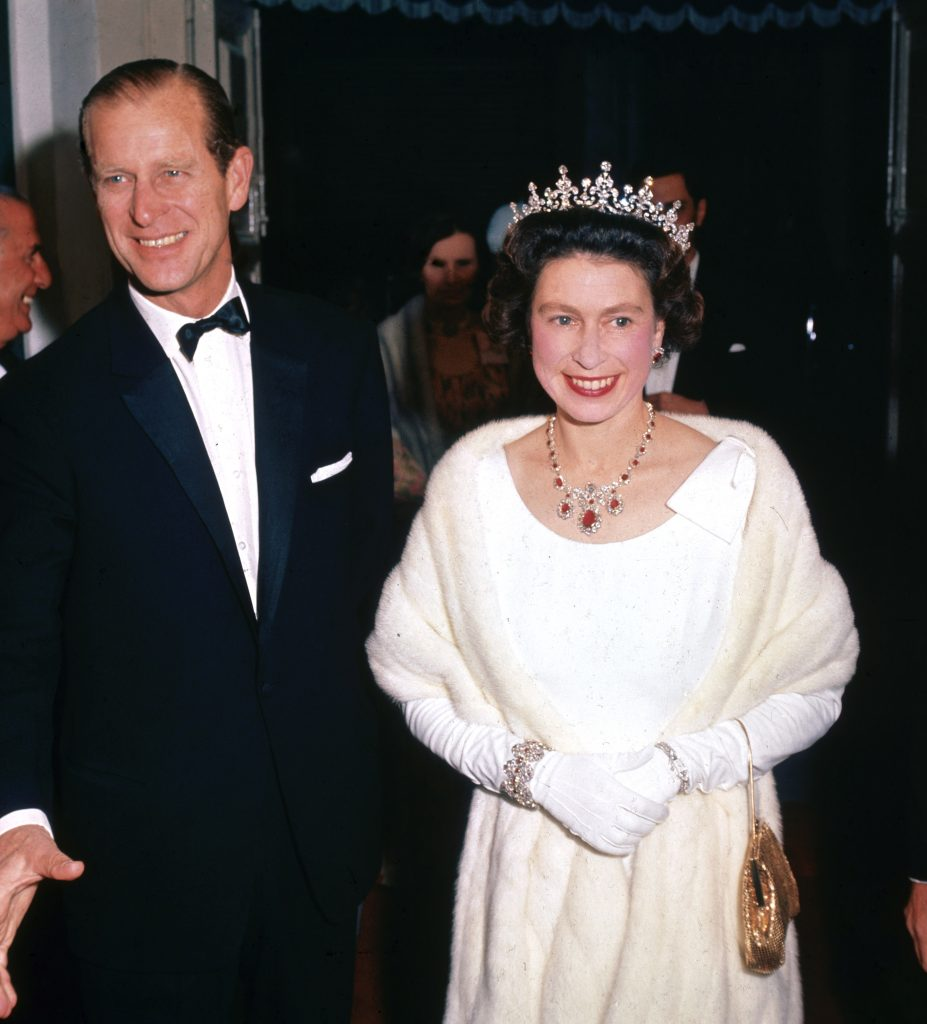 Prince Philip and Queen Elizabeth II in 1967