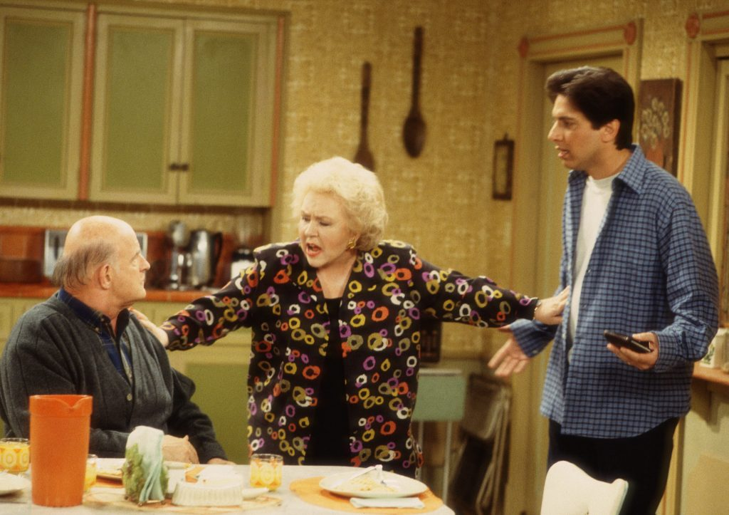 Doris Roberts, center, in a scene from 'Everybody Loves Raymond'