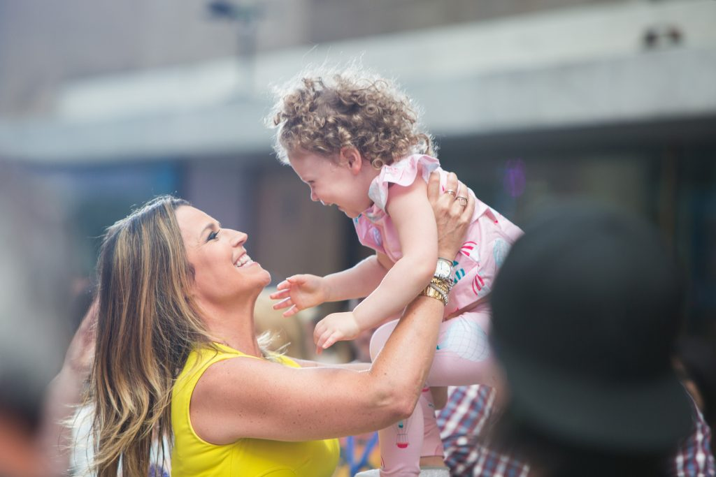Savannah Guthrie and her daughter Vale