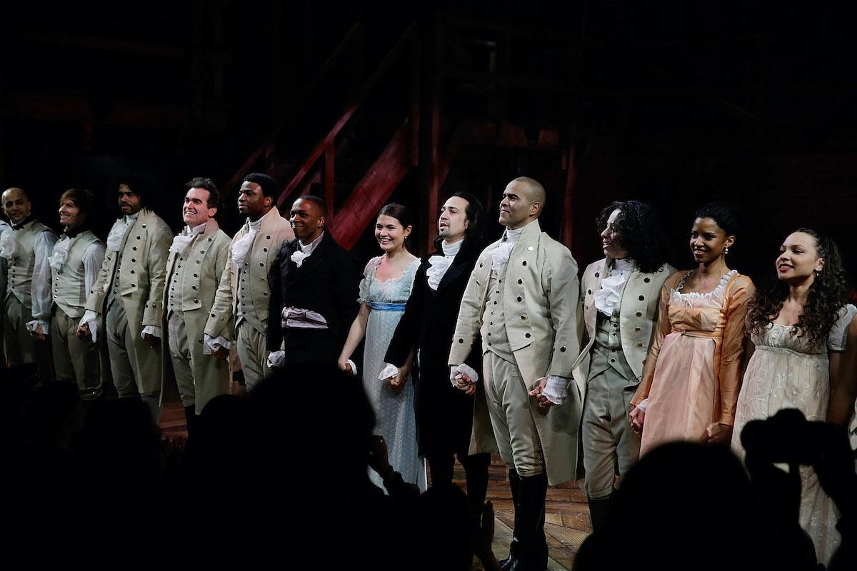 'Hamilton' opening night