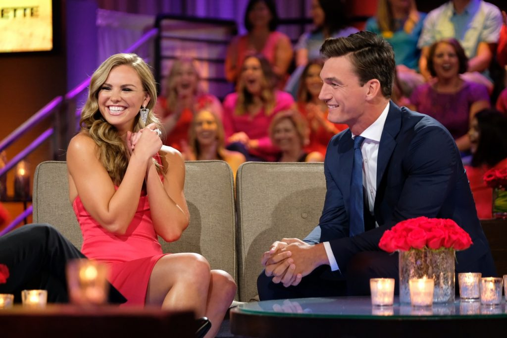 The Bachelorette alums Hannah Brown and Tyler Cameron