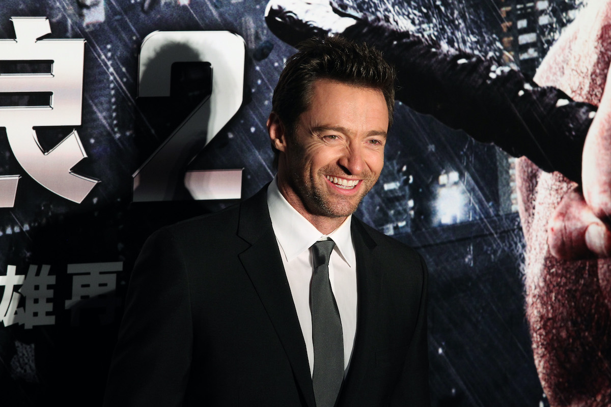 Hugh Jackman at 'The Wolverine' premiere