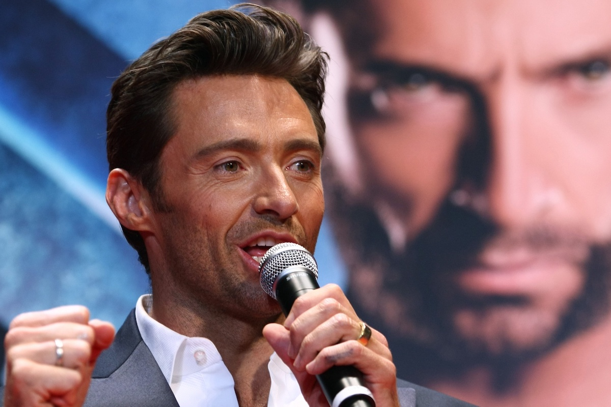 Hugh Jackman at the Japan premiere of 'X-Men Origins: Wolverine'