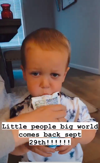 'Little People, Big World' announcement with Jackson Roloff