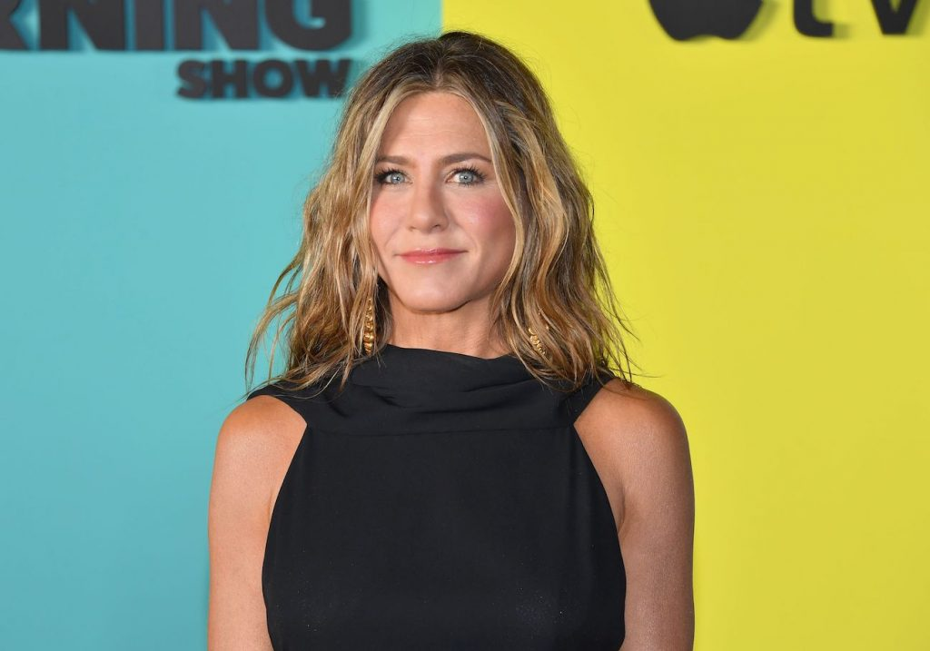 Jennifer Aniston arrives for Apple's 'The Morning Show' global premiere at Lincoln Cente
