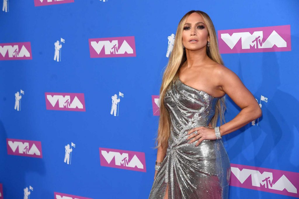Jennifer Lopez at the 2018 MTV Video Music Awards | Jamie McCarthy/Getty Images