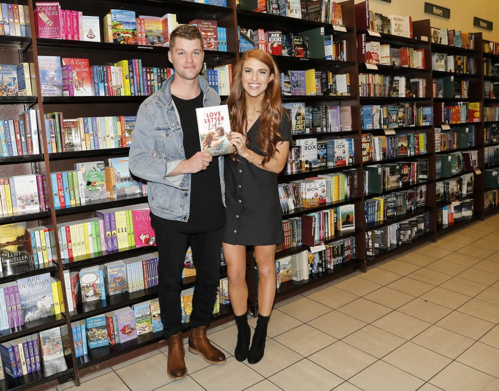 Jeremy Roloff and Audrey Roloff celebrate their new book, 'A Love Letter Life'