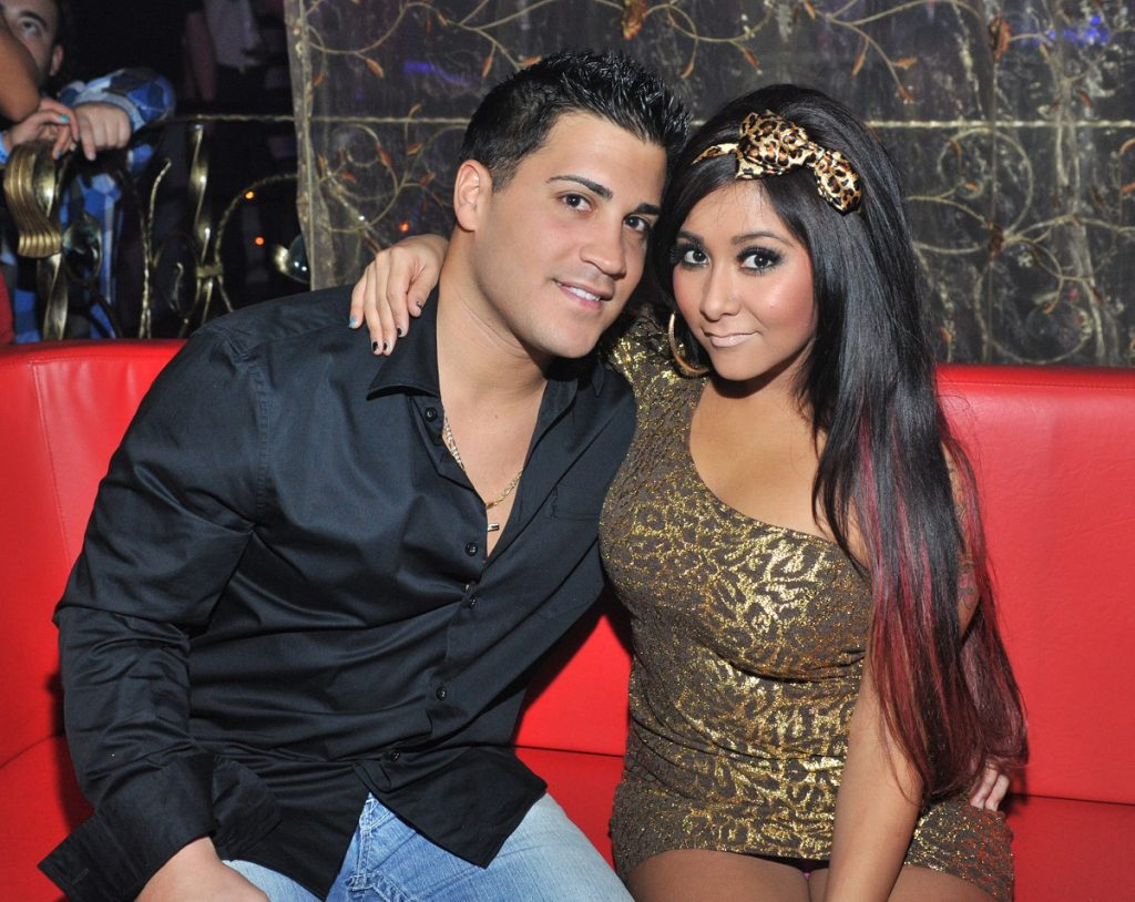 Nicole 'Snooki' Polizzi and Gionni LaValle from 'Jersey Shore'