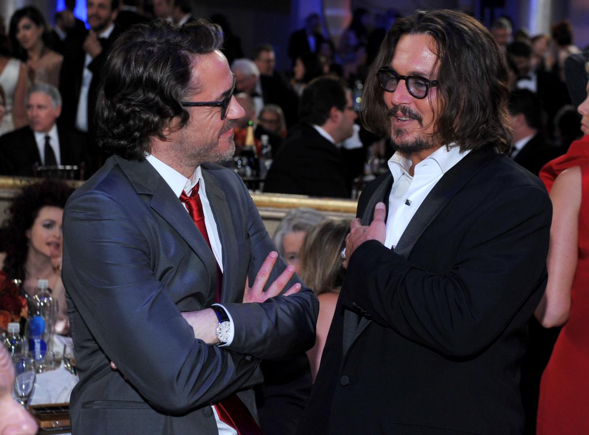 Johnny Depp Robert Downey Jr