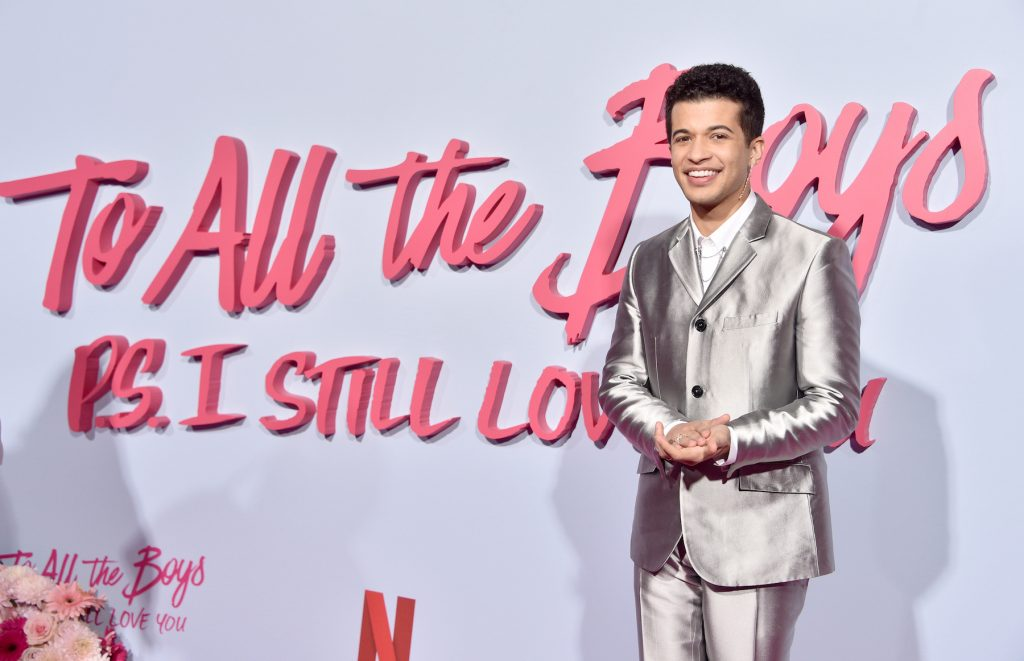 Jordan Fisher attends the Premiere Of Netflix's 'To All The Boys: P.S. I Still Love You'