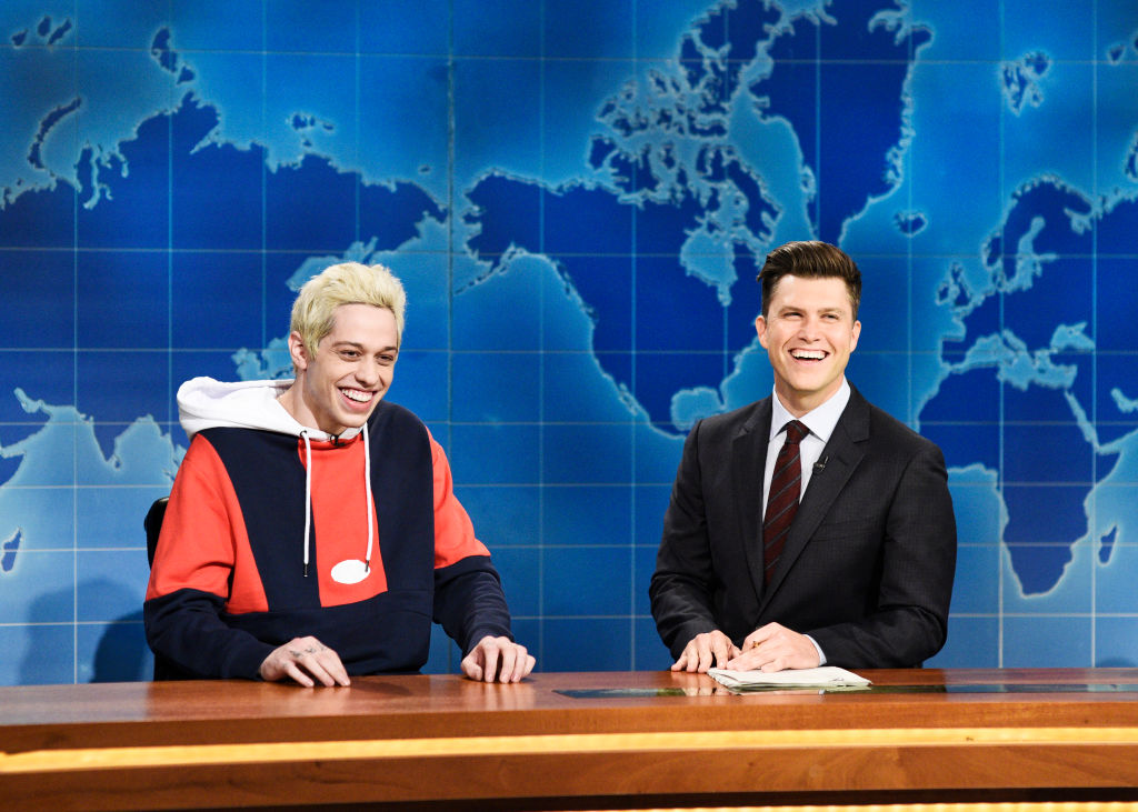 Colin Jost and Pete Davidson on Saturday Night Live