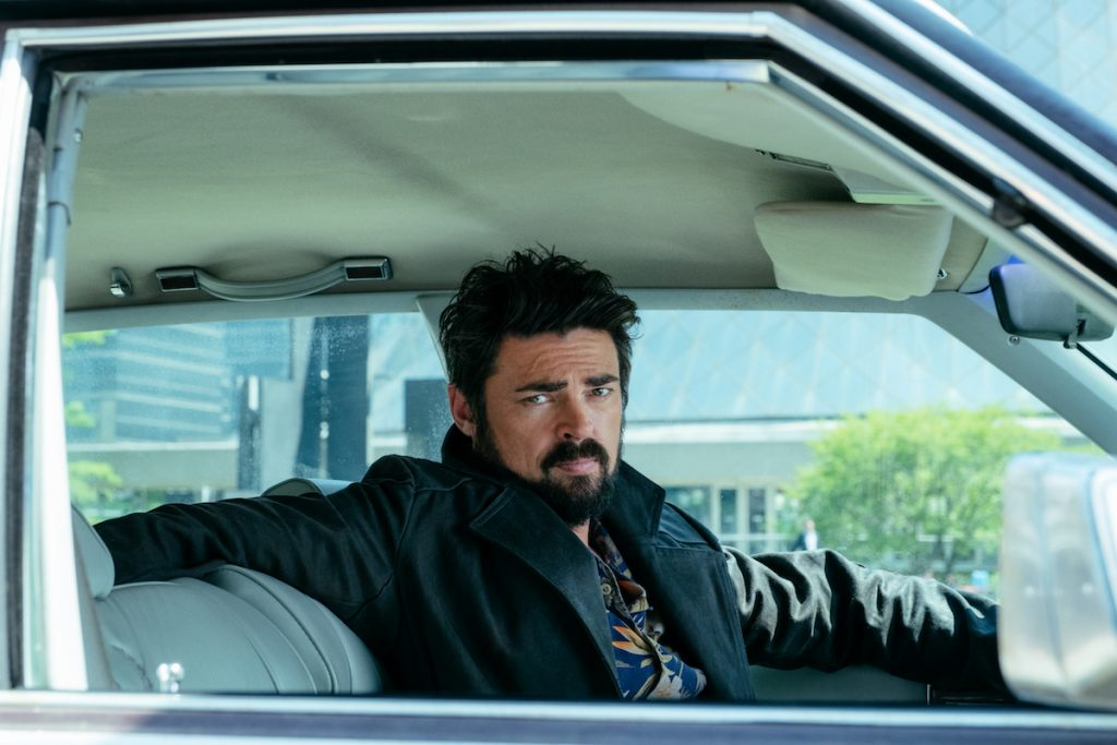 Karl Urban as Billy Butcher on Amazon Prime's 'The Boys.'