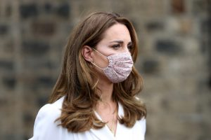 Kate Middleton's Body Language Actually Changes When She's Wearing a Mask
