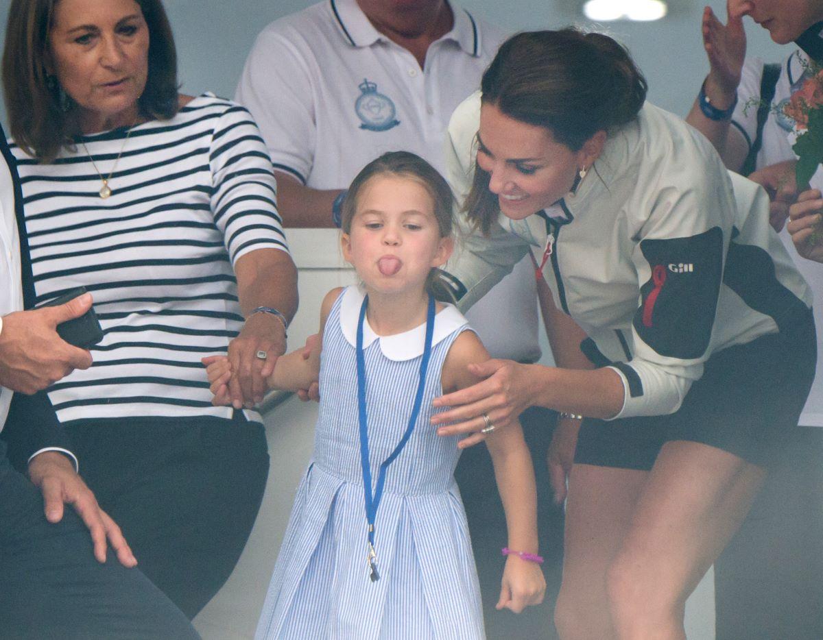 Kate Middleton, Carole Middleton,  Princess Charlotte