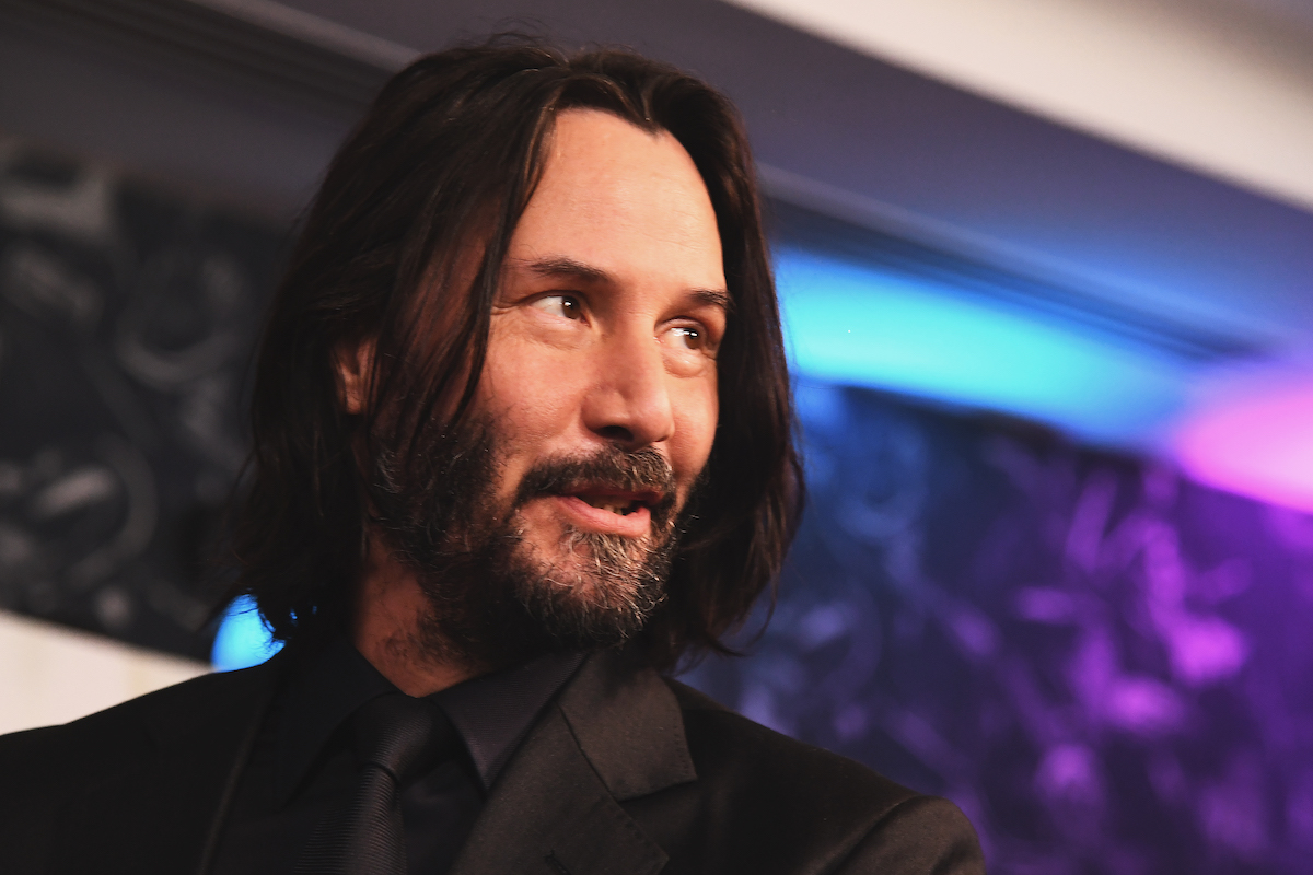 Keanu Reeves at a 'John Wick' special screenings