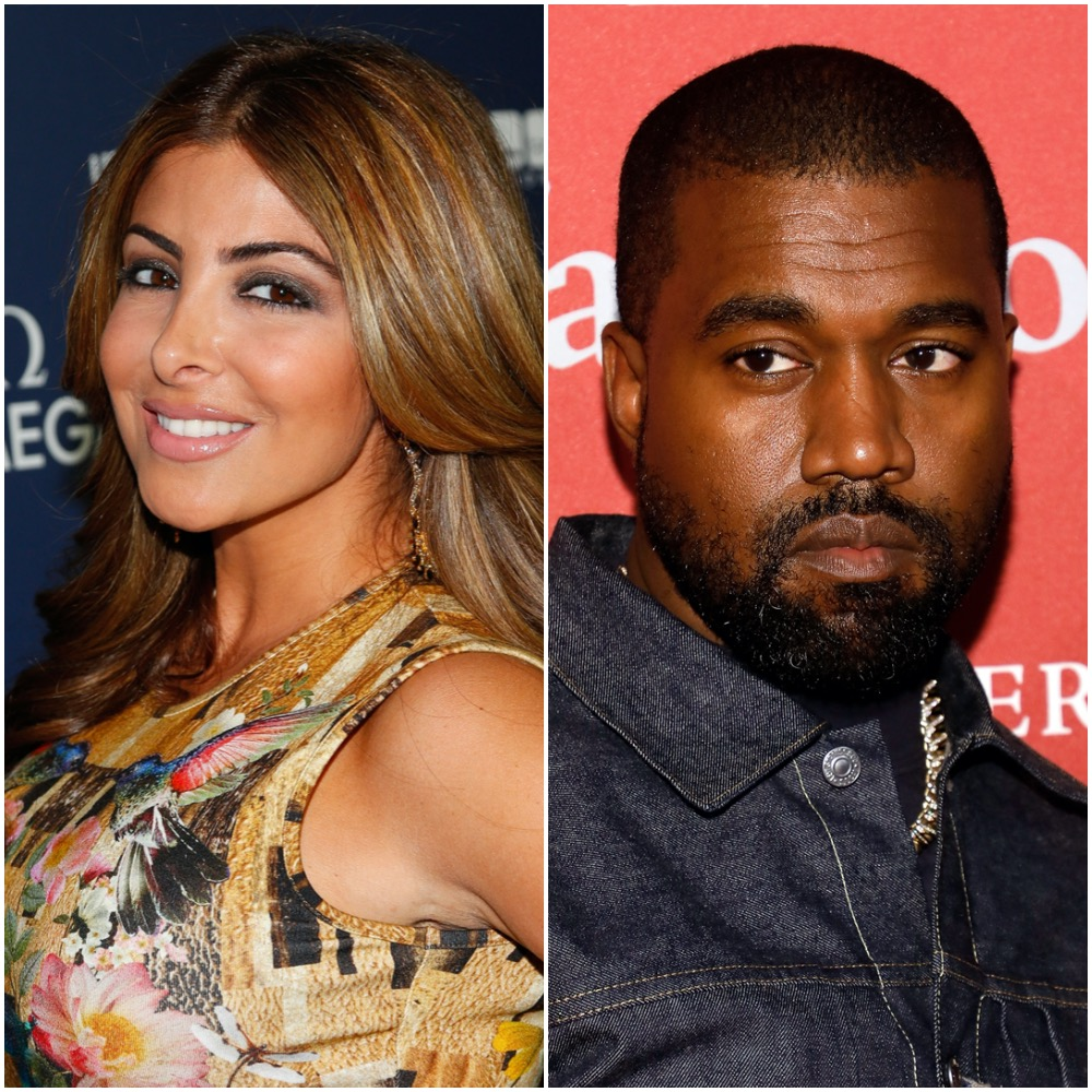 Larsa Pippen and Kanye West