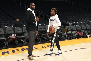 LeBron James Had a Strict Social Media Rule for His Teenage Son Bronny
