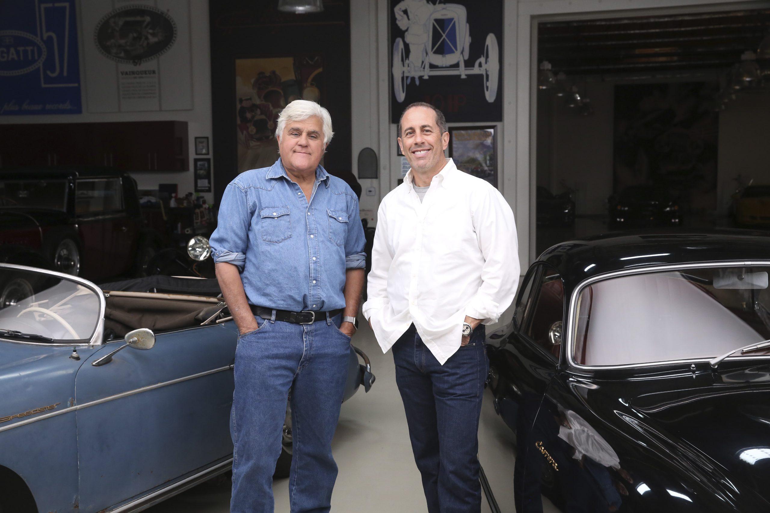 Jerry Seinfeld and Jay Leno