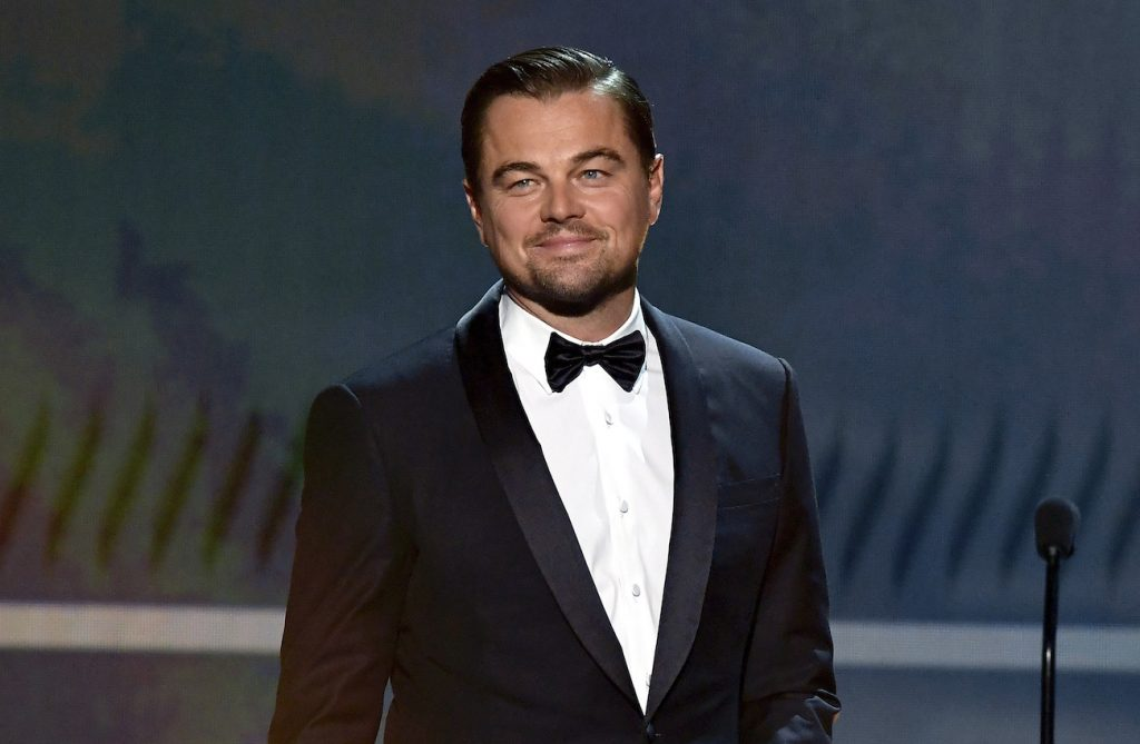 Leonardo DiCaprio speaks onstage during the 26th Annual Screen Actors Guild Awards