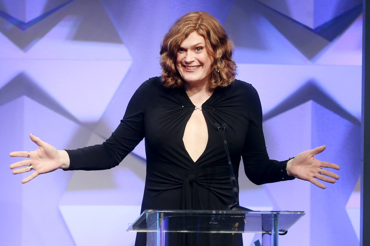 Lilly Wachowski at the 27th Annual GLAAD Media Awards