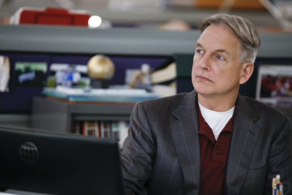 Mark Harmon on the set of NCIS | Cliff Lipson/CBS via Getty Images