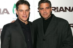 George Clooney 'Was Really Depressed' Gaining Weight for 'Syriana', Matt Damon Says