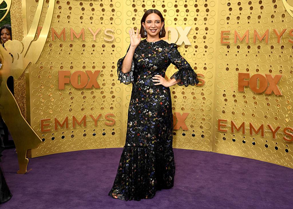 Maya Rudolph at the Emmys