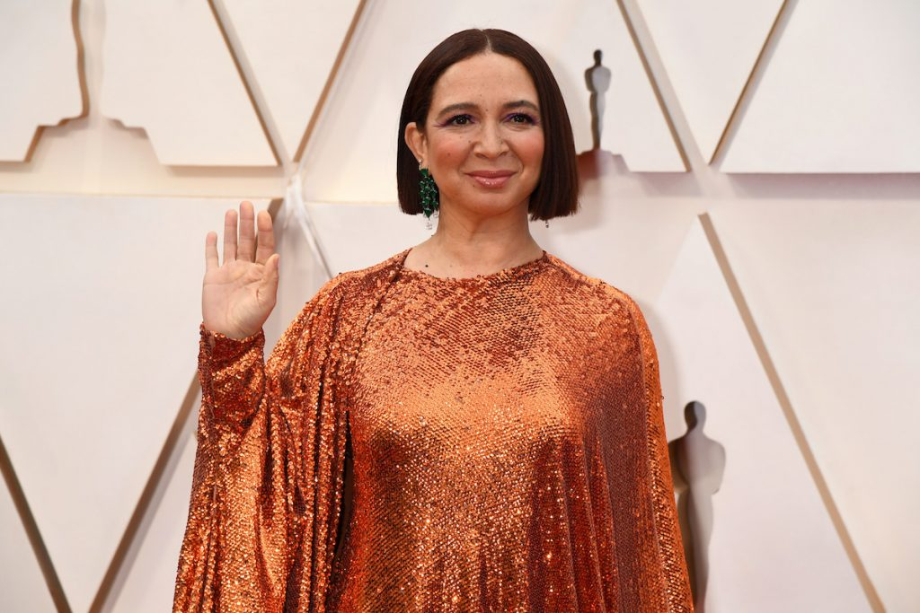 Maya Rudolph attends the 92nd Annual Academy Awards