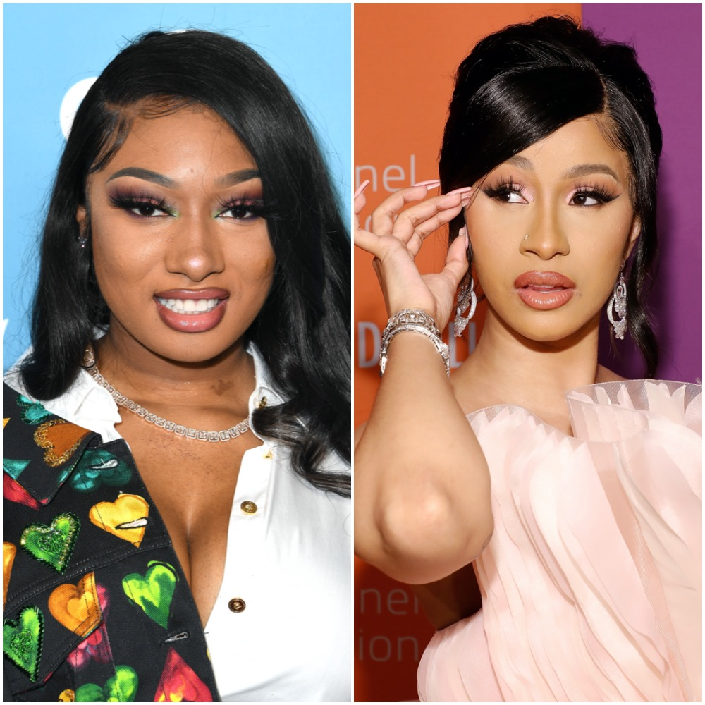 Megan Thee Stallion and Cardi B