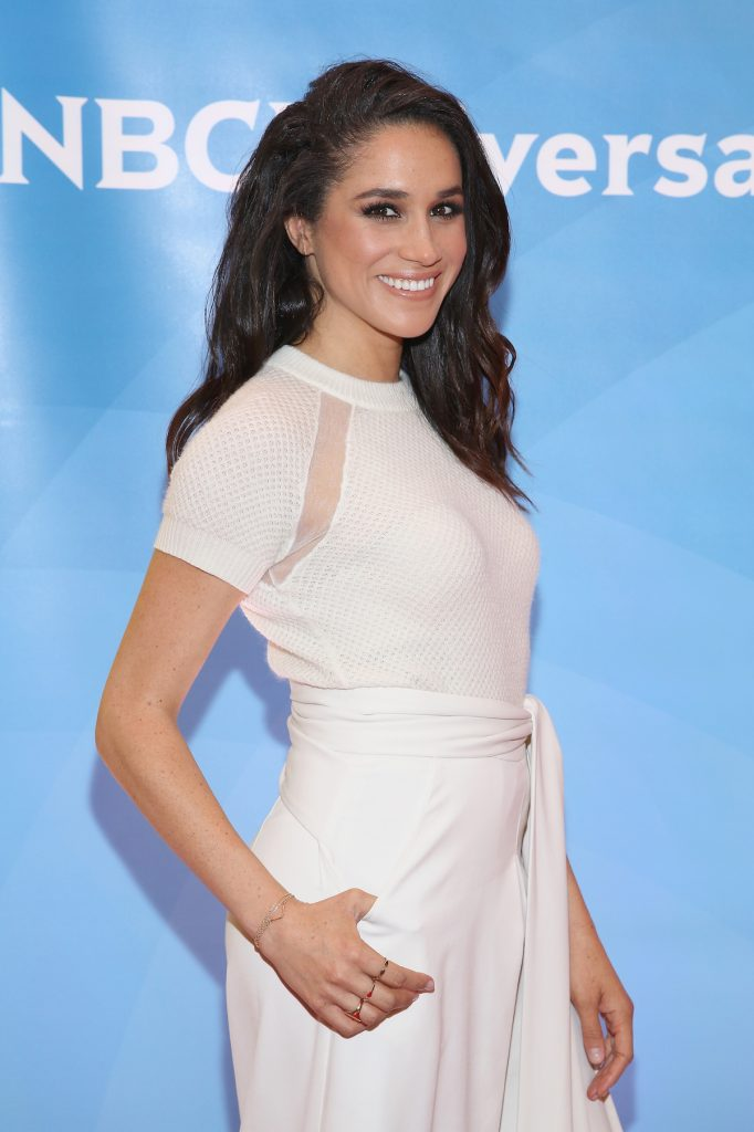 Meghan Markle on the red carpet in 2015