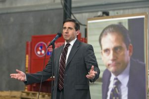 Steve Carell Improvised This Hilarious Moment on 'The Office'
