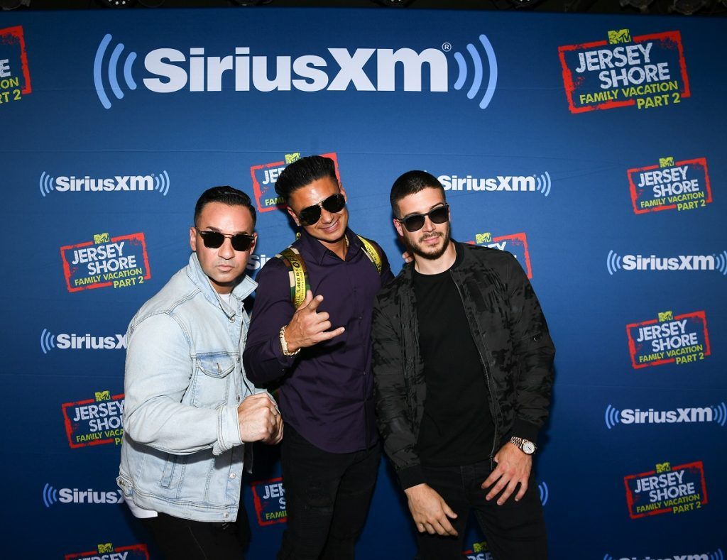 'Jersey Shore' roommates Mike 'The Situation' Sorrentino, DJ Pauly D, and Vinny Guadagnino