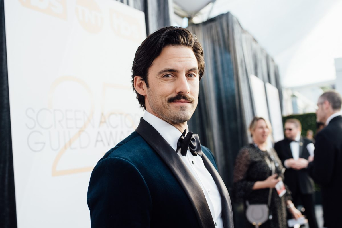 Milo Ventimiglia  on the red carpet at the 2019 Screen Actors Guild Awards