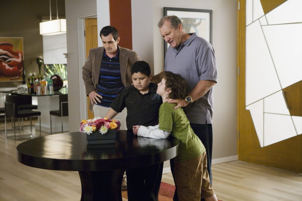 Cast members of ABC's 'Modern Family'