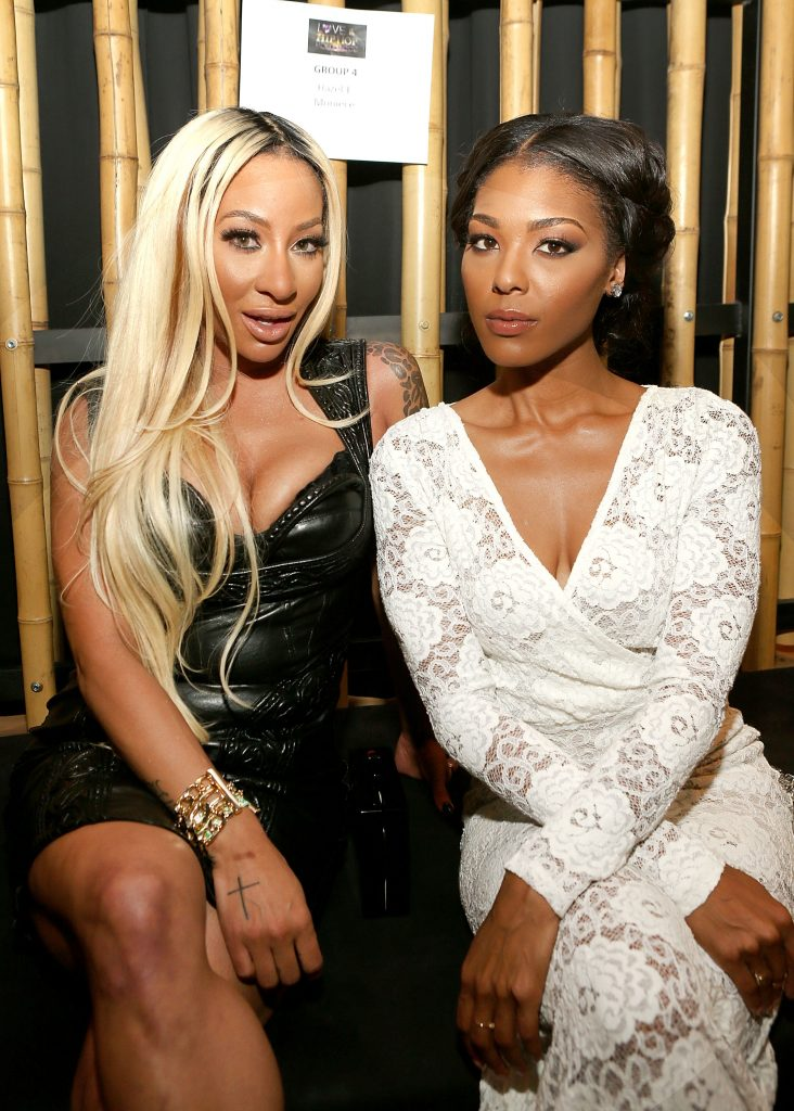 Moniece Slaughter and Hazel-E in in 2014