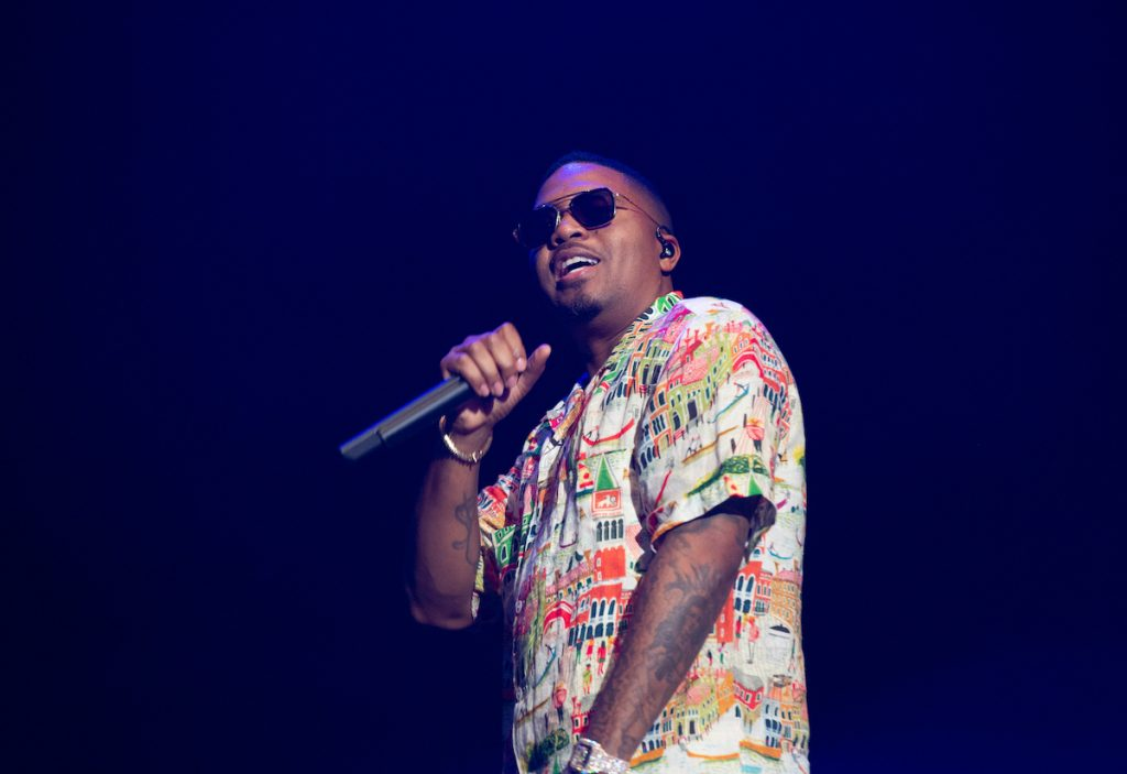 Nas performs at the 2019 Governors Ball Festival