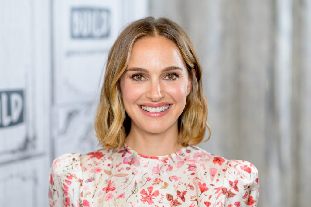 """Natalie Portman discusses """"Lucy in the Sky"""" with the Build Series at Build Studio."""