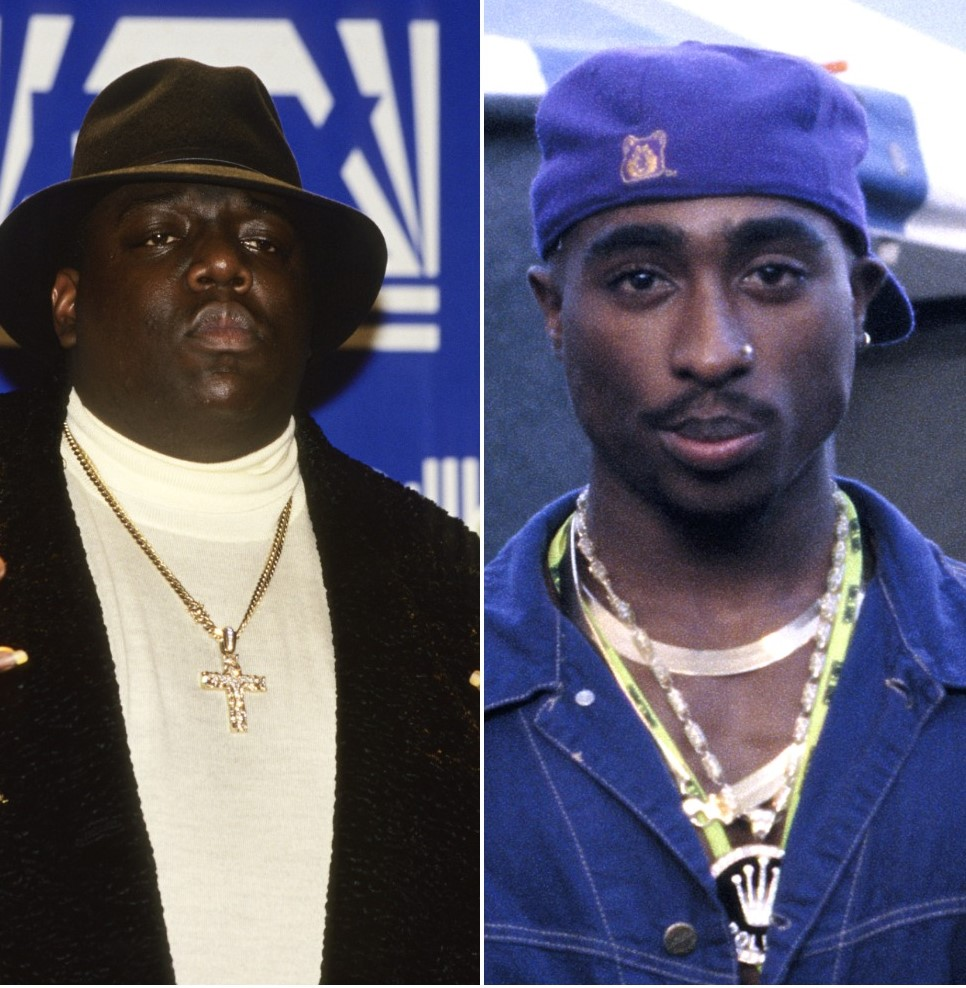 Notorious B.I.G. and Tupac Shakur