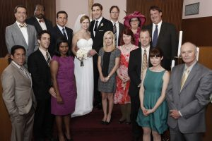 'The Office': This Awkward Moment Was Originally Supposed To Happen at Jim and Pam's Wedding