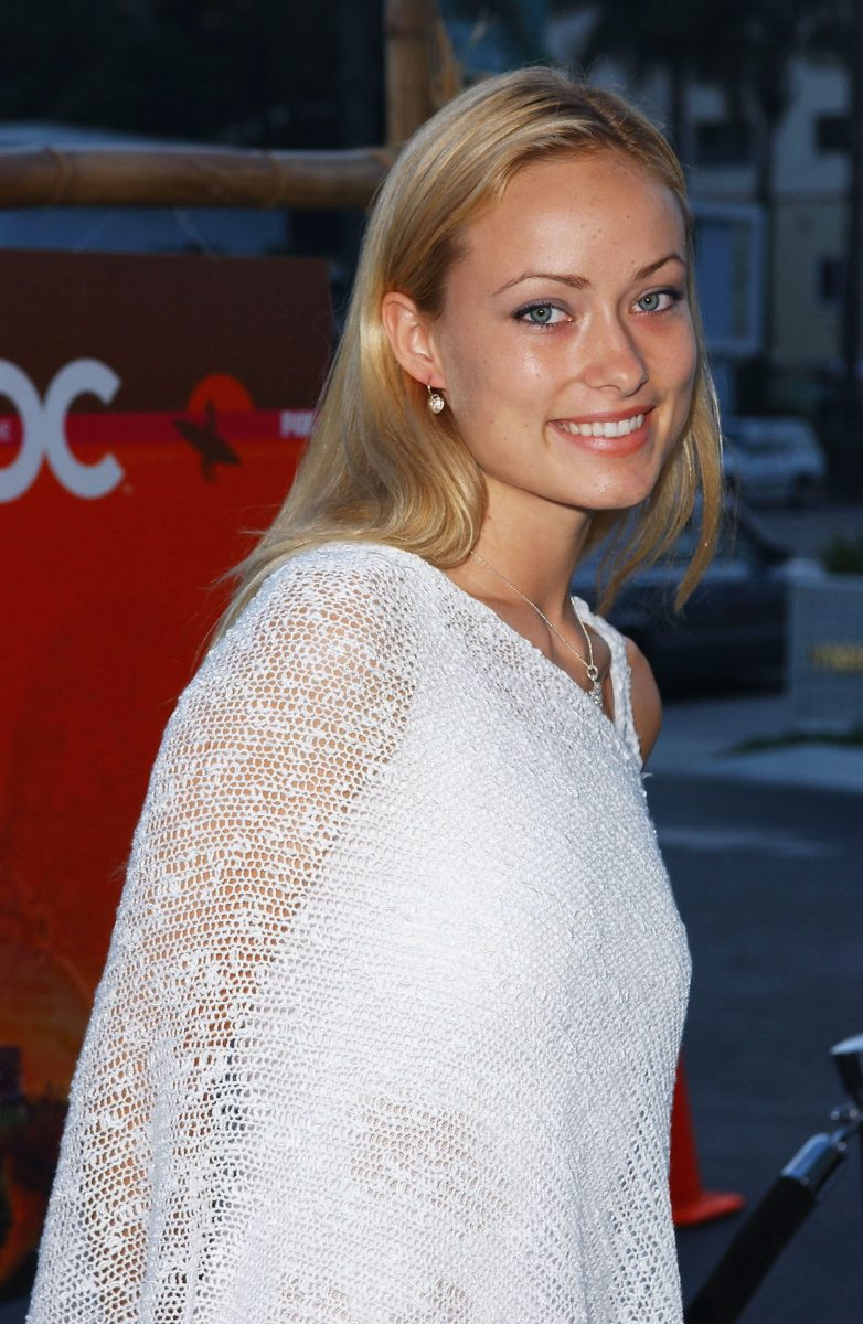 Olivia Wilde attends 'The O.C.' premiere party in 2003