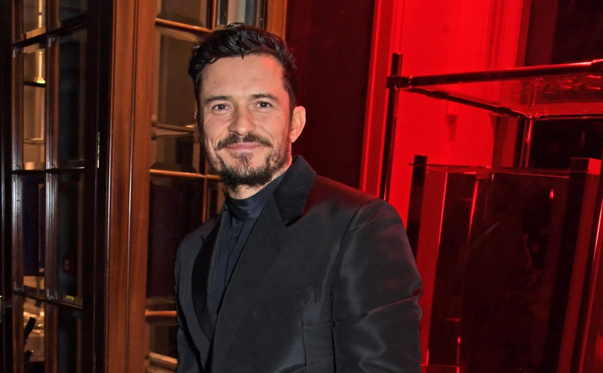 Orlando Bloom Has a Very Nostalgic Quarantine Activity