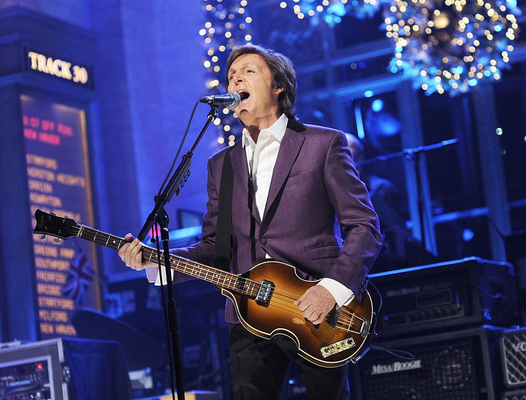 Paul McCartney on Saturday Night Live