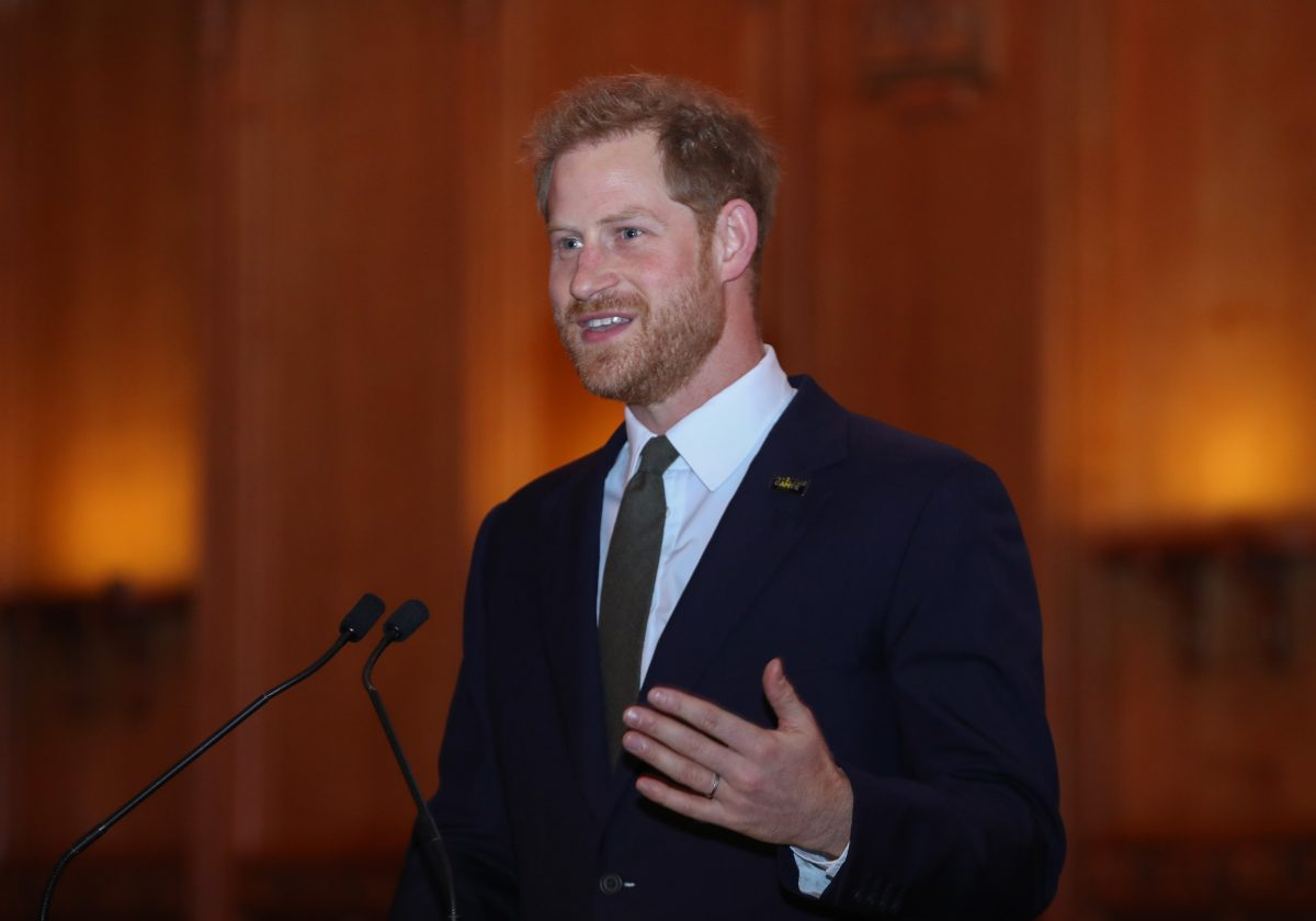 Prince Harry reveals he wants to teach son Archie rugby