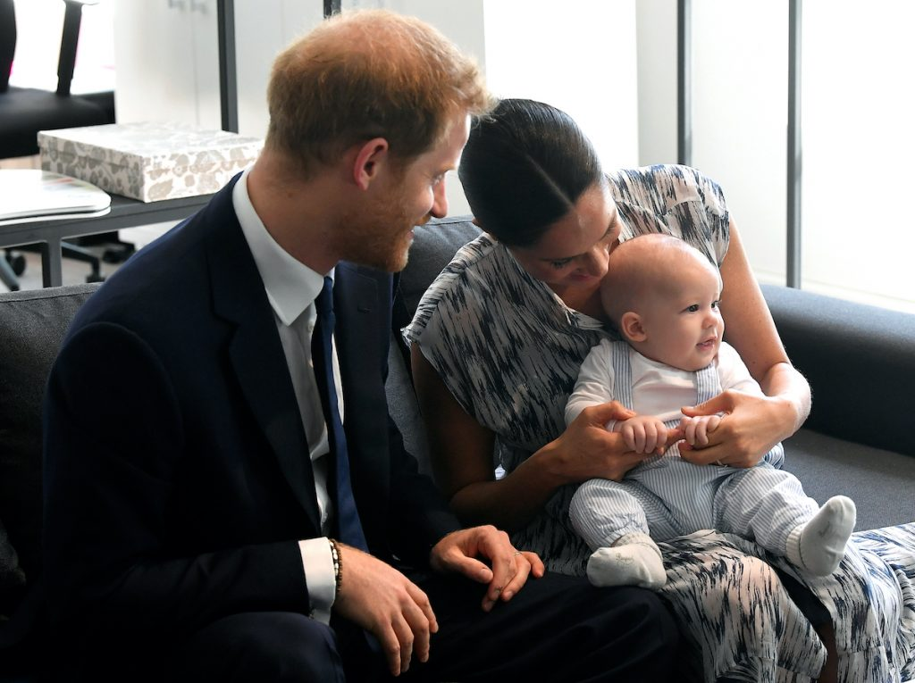Prince Harry, Meghan, Duchess of Sussex, and their son Archie