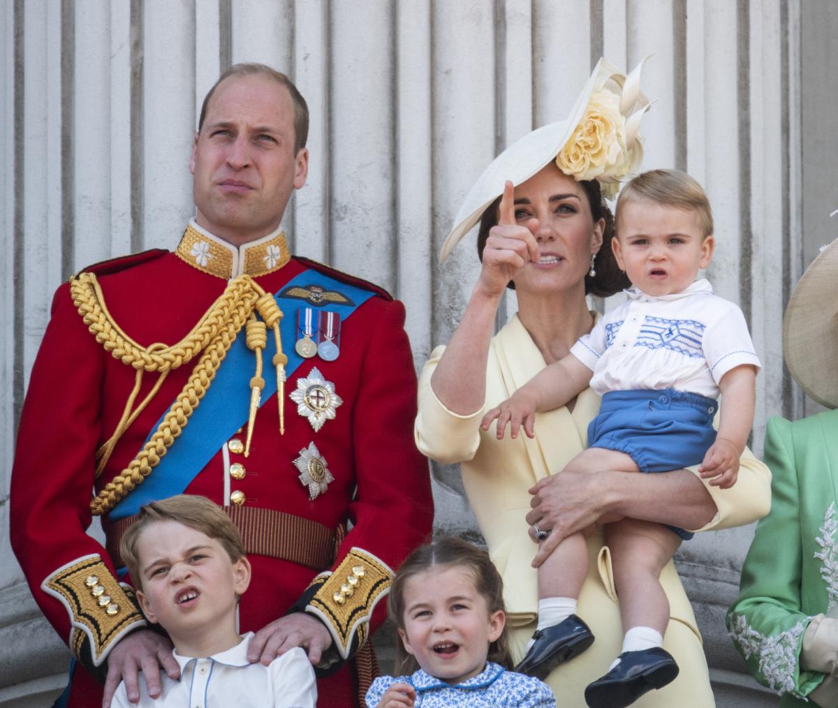 Prince William Prince Charlotte